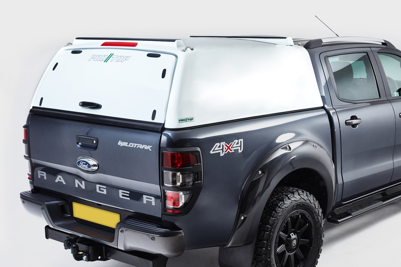 Pro//Top Tradesman Canopy for Toyota Hilux