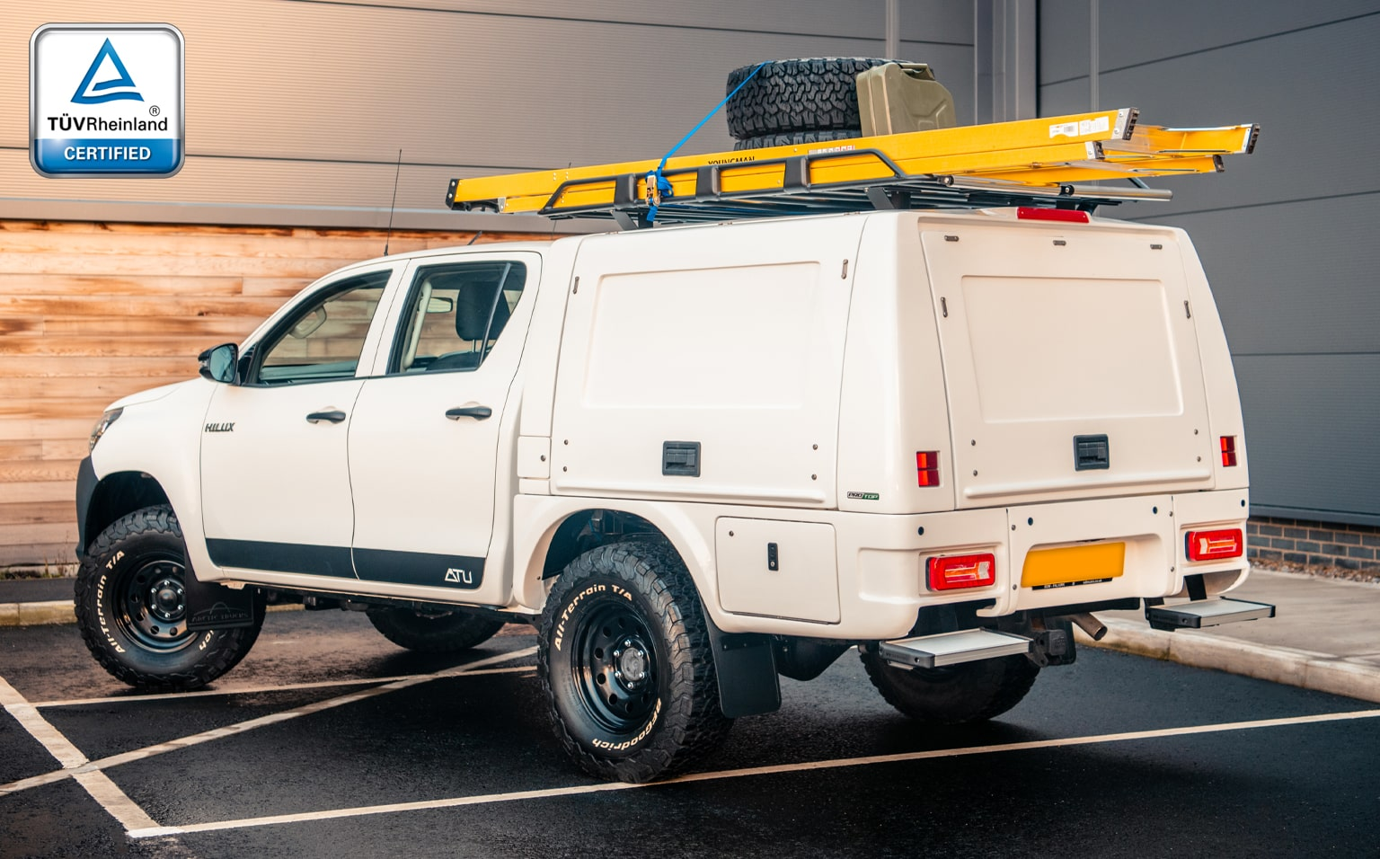 Ford Ranger Pro//Top Commercial Canopy