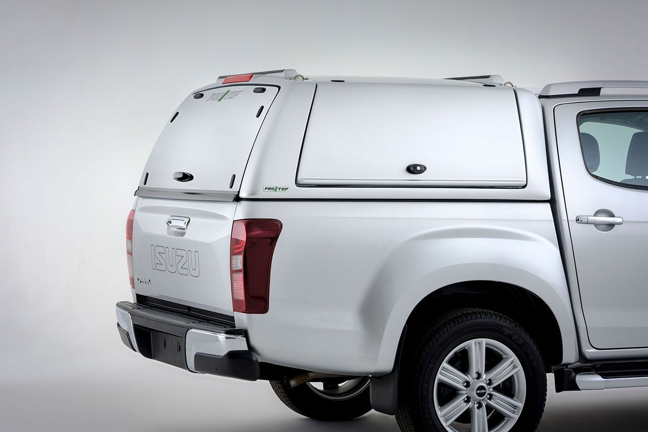 Isuzu D-Max Low Roof Pro//Top Gullwing