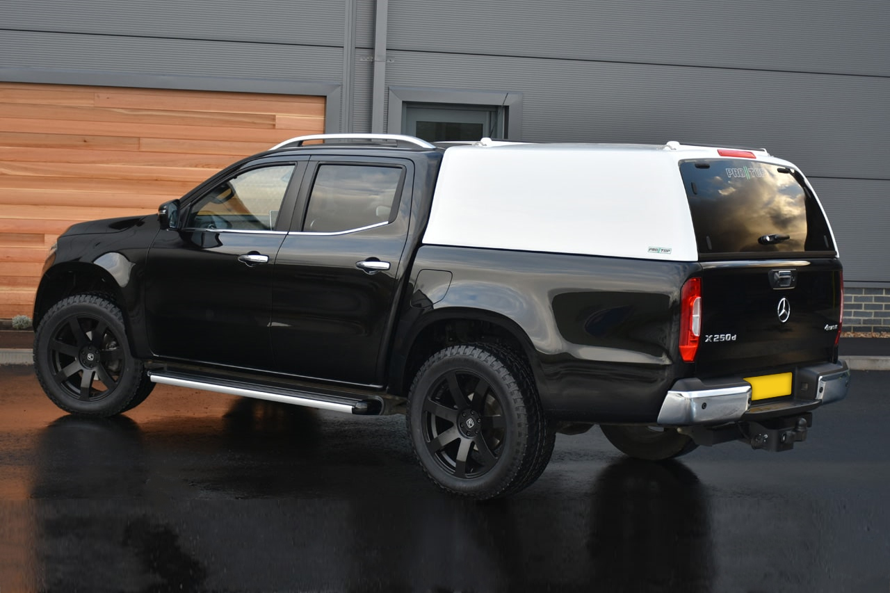 Mercedes X-Class Low Roof Tradesman Canopy