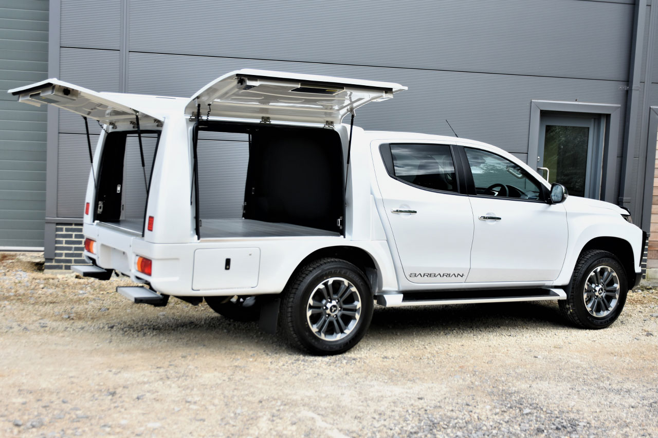 Utility Hard Top Canopy for Mitsubishi L200